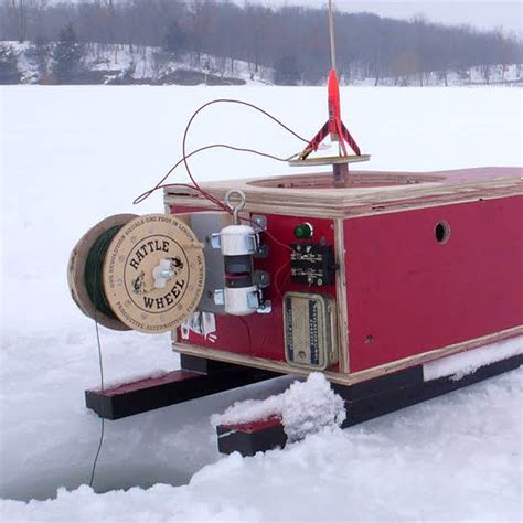 portable ice house plans diy portable ice fishing shack crafts ice fishing shacks pinterest ice fishing