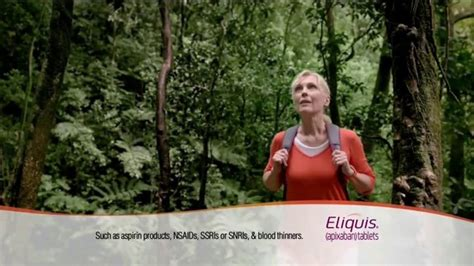 who is the kayaker in the eliquis commercial eliquis tv commercial go for my best ispot tv