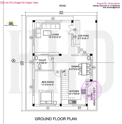 ground floor and first floor plan modern house view and plan kerala home design and floor