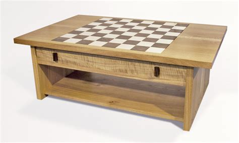 Chess Coffee Table Coffee Table Chess Board Chessboard Coffee Table Stephen Finch Furniture Maker Pym Furniture