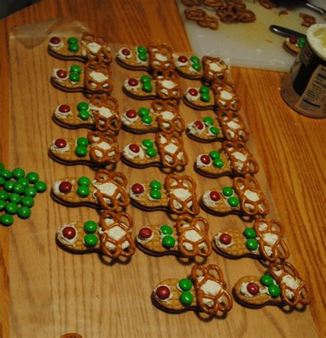 prescool snack ideas we had a bag of the christmas m so