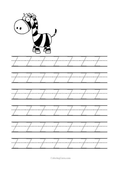printable letter z worksheets free printable tracing letter z worksheets for preschool