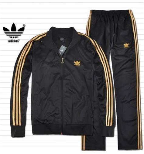 Jaket Adidas Firebird Gold Made In Indonesia fancy adidas mens originals track suit black gold