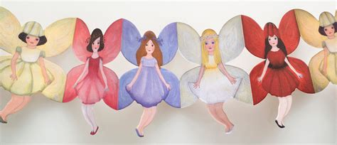 How To Make Paper Fairies - dolls of paper fairyroom