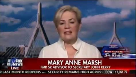 to whom is mary anne marsh married dem consultant hillary fears trump most the american