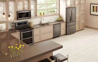 What Color Should I Paint My Kitchen With Dark Cabinets lg debuts black stainless steel kitchen appliances baby