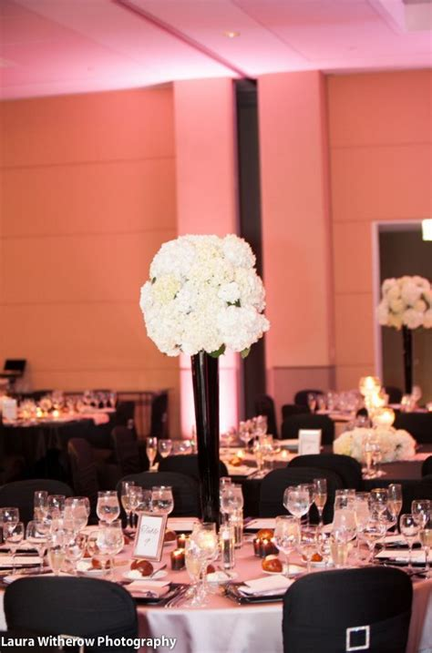 Black Vases For Wedding Centerpieces by Black Vases For Centerpieces