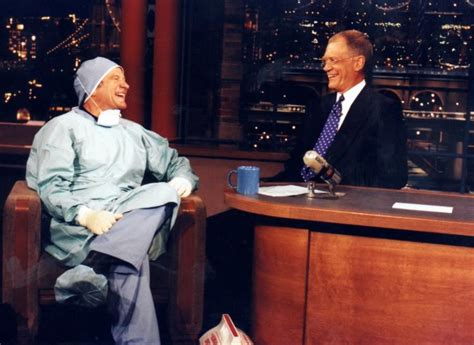 Holy Crapwe All Got To Letterman Tonight For Sure by David Letterman Remembers Longtime Pal Robin Williams Ny