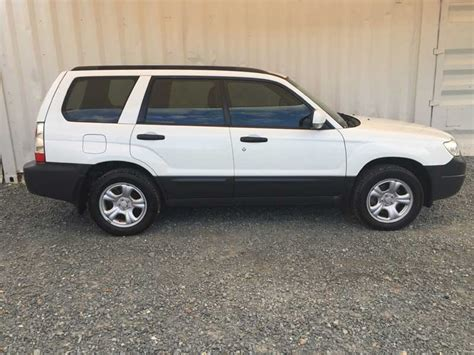 white subaru forester 2006 subaru forester 2006 white 8 used vehicle sales