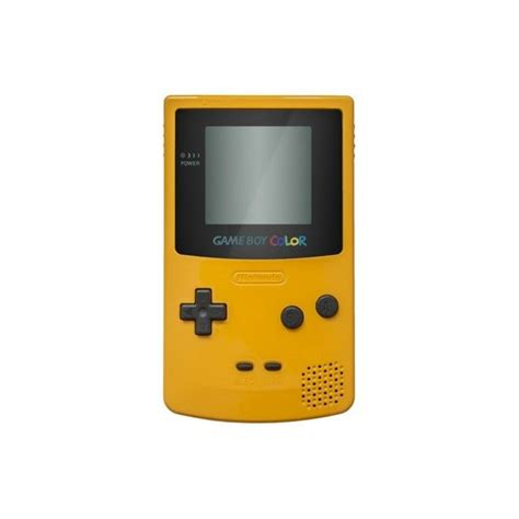 yellow gameboy color gameboy color yellow jeugd