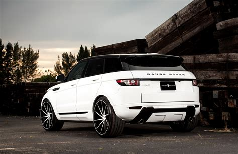 customized range rover evoque customized land rover evoque exclusive motoring miami