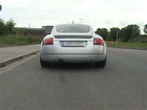 Audi Tt 8n Auspuff by Eisenmann Exhaust For The Audi Tt 8n Www Eisenmann Us
