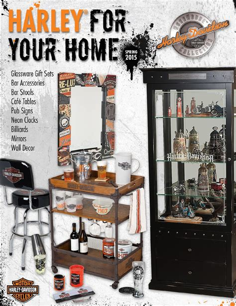harley davidson home decor catalog 2013 harley davidson