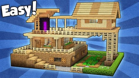 How To Get Out Of The House In The Morning Be Prepared by Minecraft Advanced Starter House Tutorial How To Build