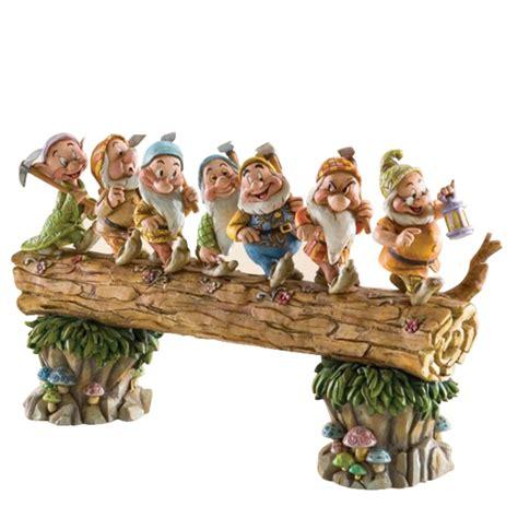 New Official Disney Traditions Seven Dwarfs Happy Figure Figurine 40 your wdw store disney traditions by jim shore figurine