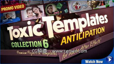 Digital Juice Toxic Templates Collection 6 Anticipation For Ae Cg资源网 Digital Juice Templates