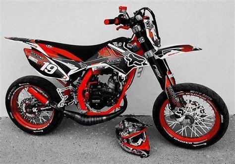 rr track beta rr 50 motard track 233 quip 233 e d un pot voca rookie avec