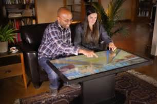Microsoft Coffee Table Computer A 46 Inch Multitouch Coffee Table Computer Ties Your