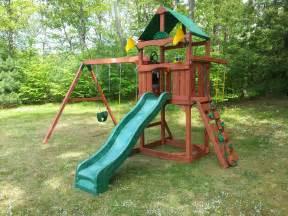 Backyard Playset Ideas Exterior Traditional Wood Gorilla Playset Ideas For Your Traditional Outdoor Backyard Ideas