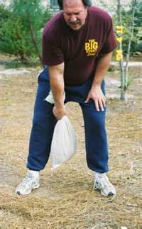 sandbag swings sandbag swing and catch