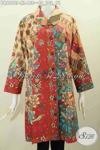 contoh model baju batik wanita terbaru pakaian batik