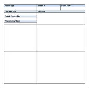 free storyboard templates for word storyboard template 77 free word pdf ppt psd format