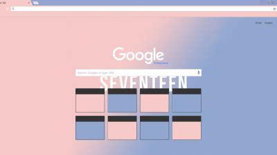 themes for google chrome kpop seventeen love letter chrome theme themebeta
