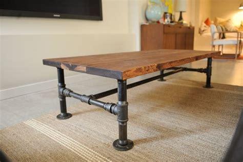 diy industrial coffee table legs diy industrial coffee table priscilla locke