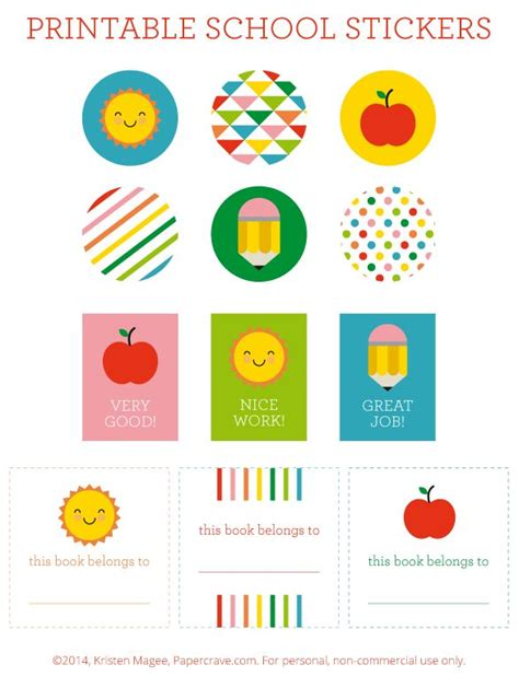 printable stickers for teachers 37 best free printables images on pinterest teacher