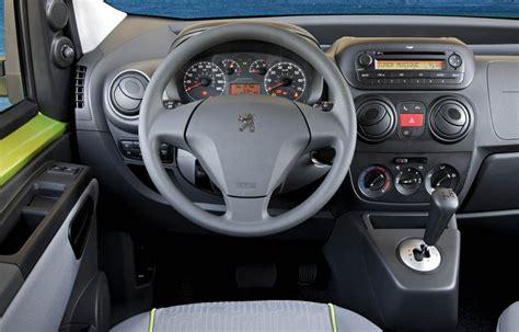 peugeot bipper interior peugeot bipper tepee 1 3 hdi 75 hp fap
