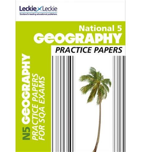 national 5 english practice national 5 geography practice papers for sqa exams fiona williamson leckie leckie