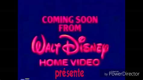1986 walt disney home video logo aka youtube coming soon from walt disney home video presente youtube