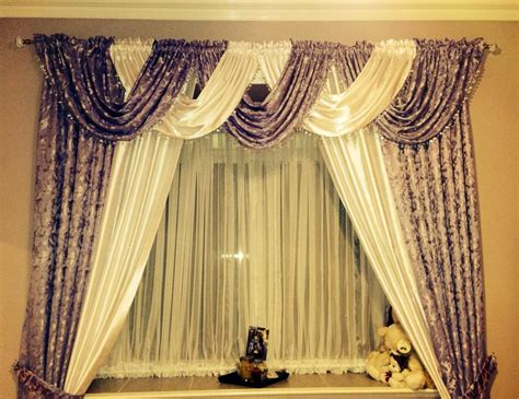 cascade valance curtain cascade and jabot curtains making jabot curtains by