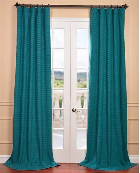teal window curtains teal window curtains shop solaris 108 in l teal canvas