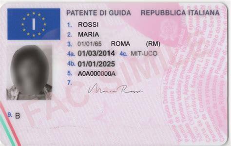 ministero degli interni patente b patente di guida italiana