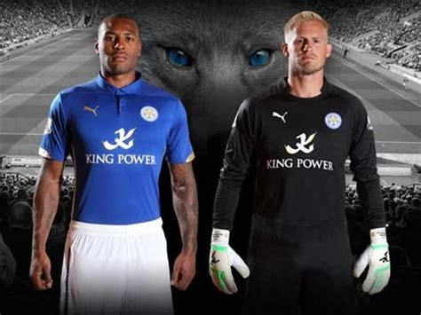 Leicester City Home 15 leicester city home goalkeeper kit 14 15 lcfc