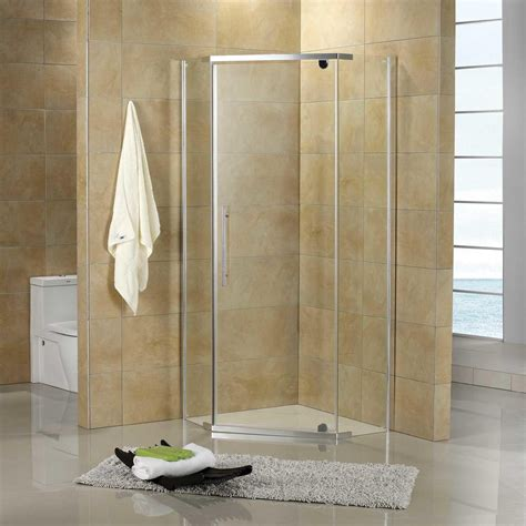 36 quot x 36 quot neo angle corner shower enclosure shower