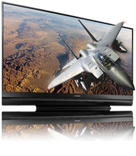 mitsubishi wd 73640 73 inch 1080p 3d ready dlp rear