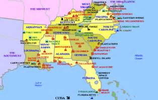 Map Of Southern States Of Usa by Southern Usa