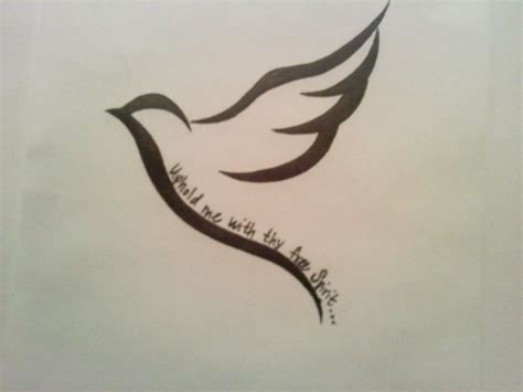 simple dove tattoo designs dove for my nana uphold me with thy free spirit