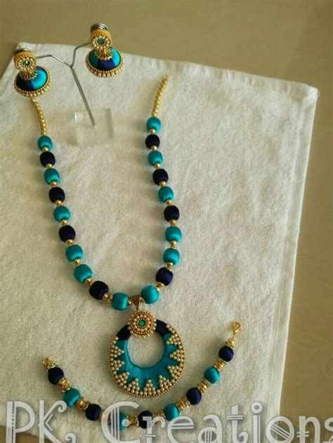Handmade Thread Jewellery - 330 best silk thread bangles images on silk