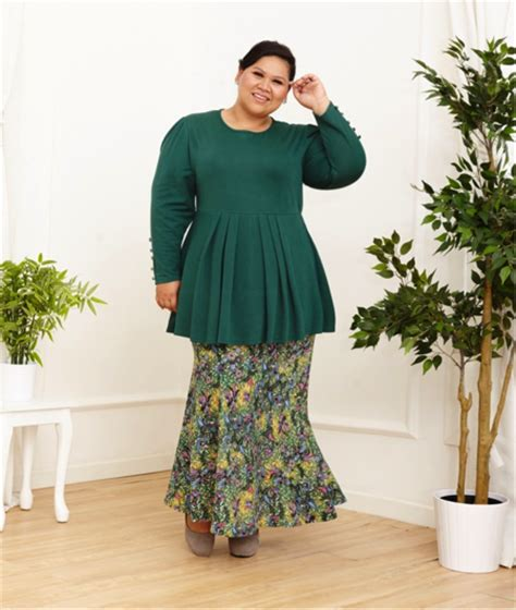 Baju Kurung Raya Plus Size a easy and fuss free raya with mis claire s raya 2016 collection the buxom