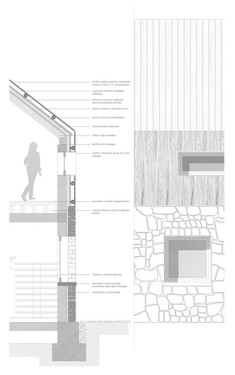 dg house domb architects architecture architectural drawings and arch gallery of rifugio monte penna lucio serpagli 13