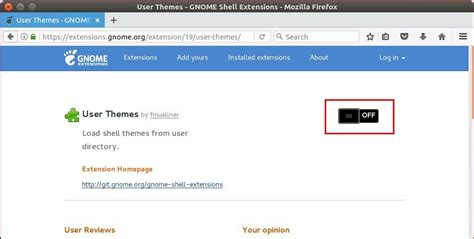 gnome user themes extension enable shell theme in gnome tweak tool in ubuntu