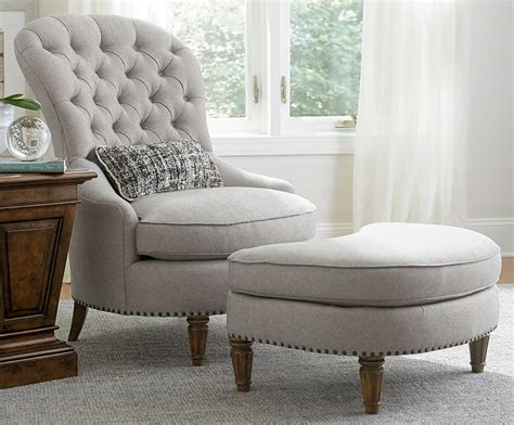 Accent Chairs With Ottoman A R T Furniture Collection One Christiansen Accent Chair With Ottoman