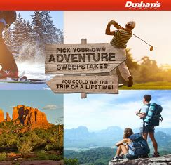 Dunham S Gift Card - dunham s win a trip of the lifetime and a 10 dunham giveawayus com