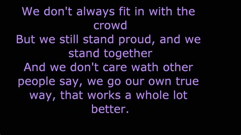 Best Friends Forever The Bff Song Lyrics