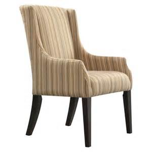 gardena sloped arm stripe dining chair mocha target