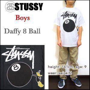 Stussy Stb by Stussy ステューシー Tシャツ キッズ Daffy 8 T Shirt ジュ Stb 002
