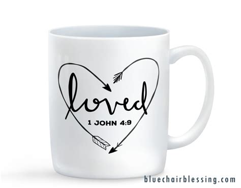 Home Design Facebook by Sale Limited Edition Mug Loved 1 John 4 9